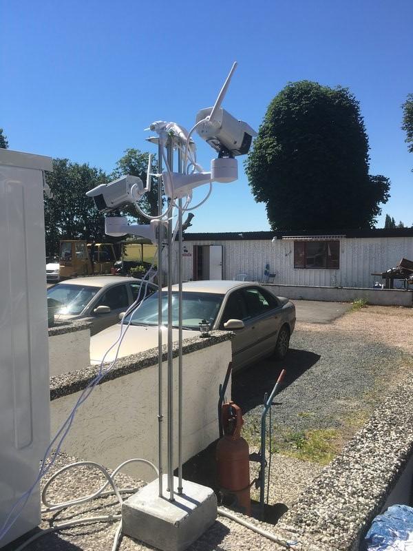 Kameraövervakning från larmhem med HD IP kameror som ett komplement till hemlarmet