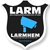 Larmdekal från Larmhem 80x80mm